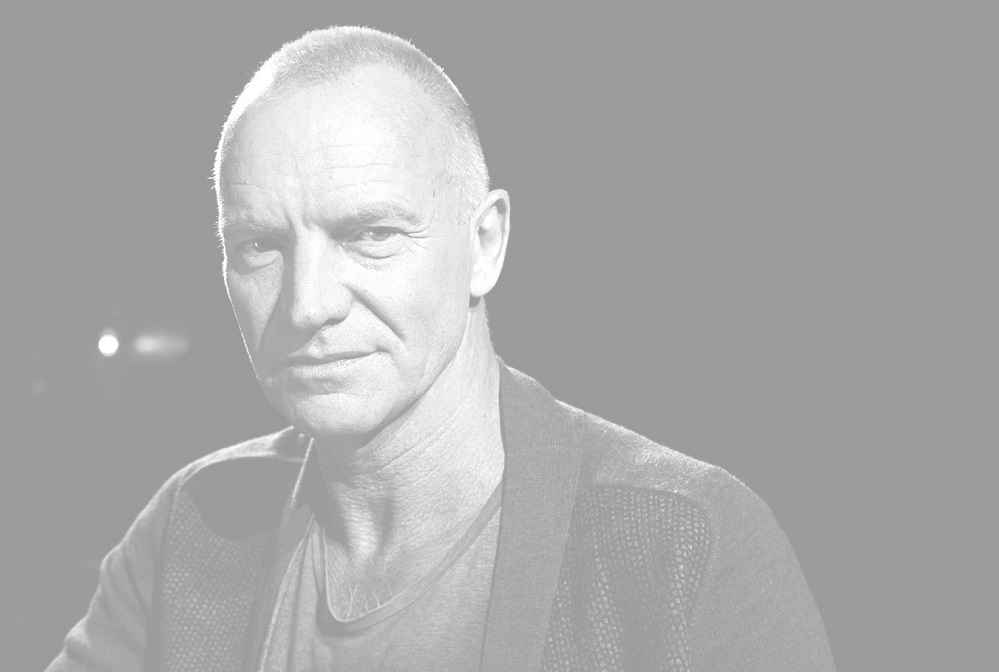 FILE - In this Sept. 26, 2013, file photo, Sting poses for a portrait at The Public Theater in New York. Sting will hit the stage at the American Music Awards next month, and the icon will also receive a special honor for his successful career. Dick Clark Productions said Monday, Oct. 24, 2016, that Sting will receive The American Music Award of Merit on Nov. 20 at the Microsoft Theater in Los Angeles. (Photo by Dan Hallman/Invision/AP, File)